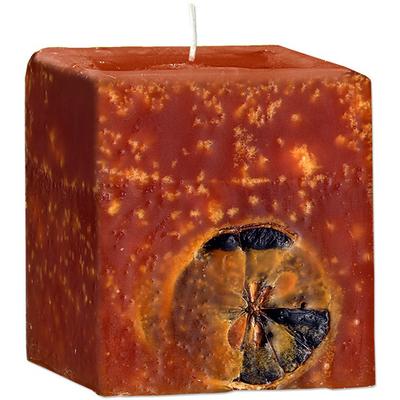 Ароматическая свеча с эфирным маслом Апельсина