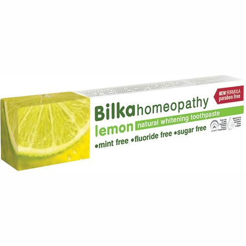 Паста зубная гомеопатическая с ароматом лимона Билка 75 ml