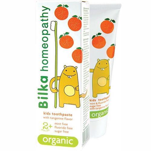 Крем- паста зубная детская homeopathy ORGANIC 2+ со вкусом мандарина Билка 50 ml