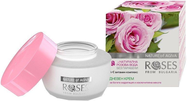 Увлажняющий дневной крем Roses from Bulgaria Agiva 50 ml