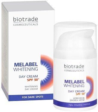Крем Отбеливающий дневной для кожи SPF 50+ MELABEL WHITENING Биотрейд 50 ml