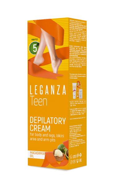 Депилирующий крем Teen Leganza Роза Импекс 100 ml