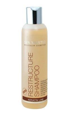 Реструктурирующий шампунь для волос с кератином 200 ml