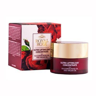 Дневной ультралифтинг концентрат для лица с розовым маслом Royal Rose 40 ml