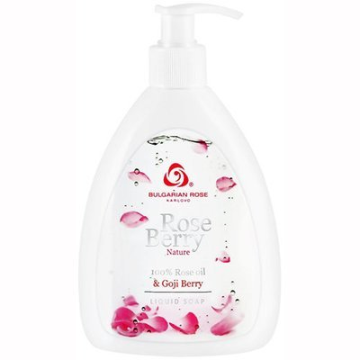 Жидкое мыло Rose Berry Nature  Болгарская Роза Карлово 290 ml