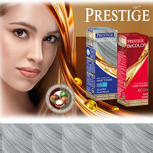 Оттеночный бальзам для волос серибристо- платиновый 100 ml