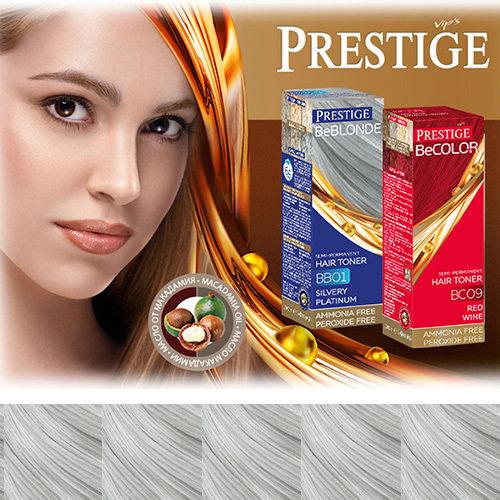 Оттеночный бальзам для волос серебряный эфефект 100 ml