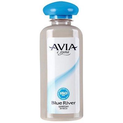 Шампунь на основе глины для всех типов волос Blue River Avia 180 ml