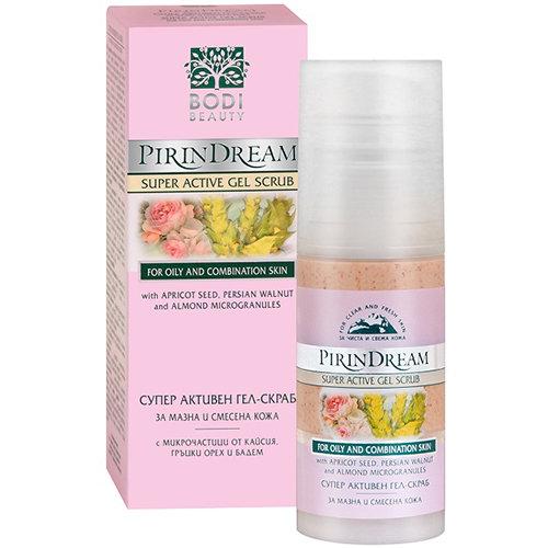 Супер активный гель- скраб для жирной кожи Pirin Dream Боди-Д 50 ml