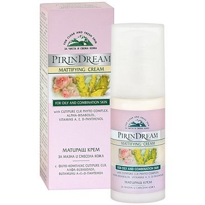 Матирующий крем для жирной и смешанной кожи лица Pirin Dream Боди-Д 50 ml