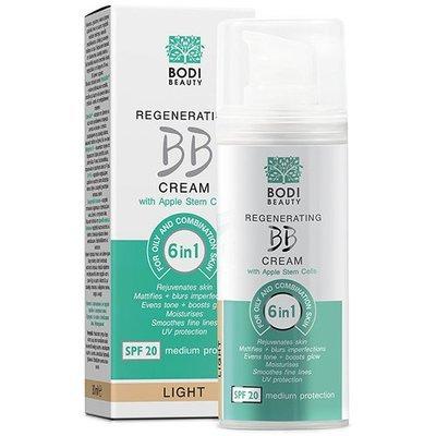 Регенерирующий BB крем 6 в 1 для жирной и смешанной кожи Light 1 Боди-Д 30 ml