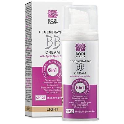 Регенерирующий BB крем 6 в 1 для нормальной, сухой и чувствительной кожи Light 1 Боди-Д 30 ml