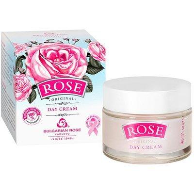 Крем для лица дневной Rose для всех типов кожи Болгарская Роза Карлово 50 ml