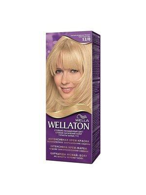 Интенсивная крем- краска для волос Wellaton Светлый натуральный блондин 120 ml