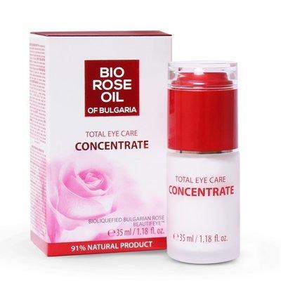 Уход- концентрат против морщин кожи вокруг глаз (с помпой) Роза Ойл 35 ml