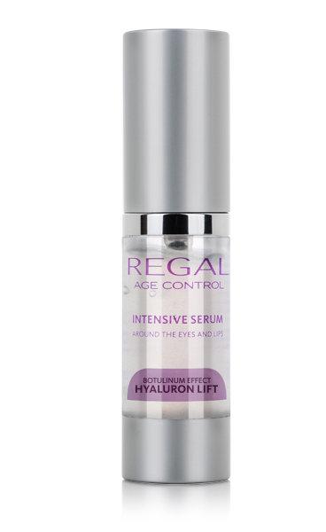 Интенсивная сыворотка для области вокруг глаз и губ против морщин Regal Age Control Hyaluron Lift Роза Импекс 15 ml
