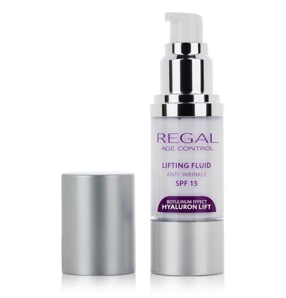 Лифтинг- флюид против морщин SPF 15 Regal Age Control Hyaluron Lift Роза Импекс 30 ml