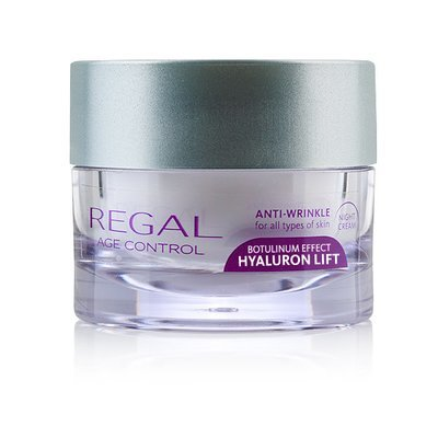 Крем ночной против морщин Regal Age Control Hyaluron Lift Роза Импекс 45 ml