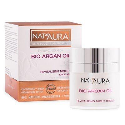 Восстанавливающий ночной крем для лица NAT'AURA 45+ Биофреш 50 ml
