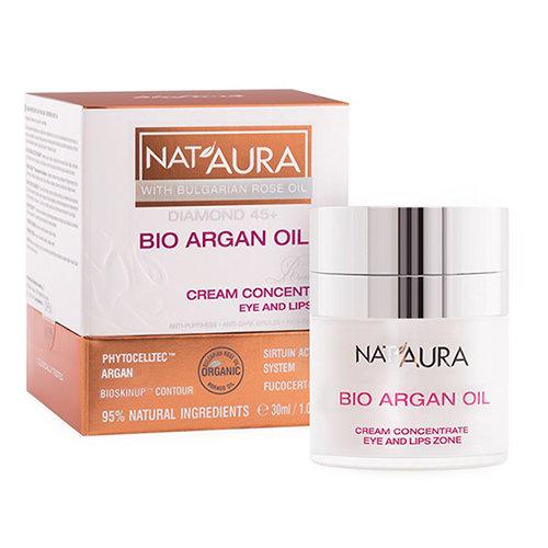 Крем- концентрат для зоны вокруг глаз и губ NAT'AURA 45+ Биофреш 30 ml