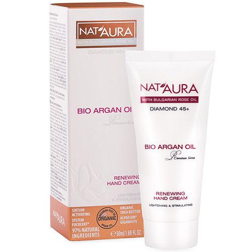 Обновляющий крем для рук NAT'AURA 45+ Биофреш 50 ml