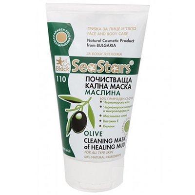 Грязевая очищающая маска Маслина SeaStars Природная косметика 150 ml