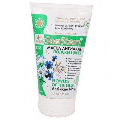 Грязевая маска против Акне Польские цветы SeaStars Природная косметика 150 ml