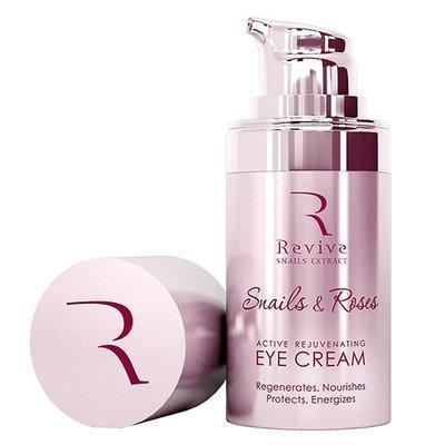 Активный омолаживающий крем для глаз Snails & Roses Natural Garden 15 ml