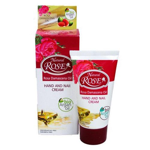 Крем для рук и ногтей Natural Rose Bio Argan oil Arsy cosmetics 50 ml