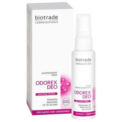 Спрей против потоотделения подмышек ODOREX DEO Биотрейд 50 ml