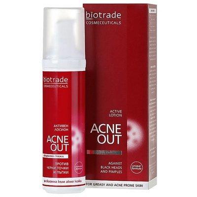 Активный Лосьон против акне (угревой сыпи) AKNE OUT Биотрейд 60 ml