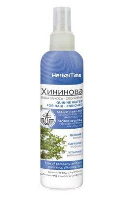 Обогащенная хининовая вода для волос 200 ml
