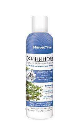 Хининовый мицеллярный шампунь для волос 200 ml