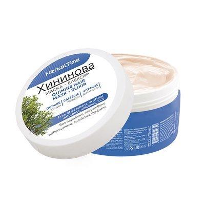Хининовая маска-эликсир для волос 200 ml