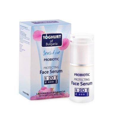 Пробиотический защитный серум для лица  SPF 20 Йогурт 35 ml