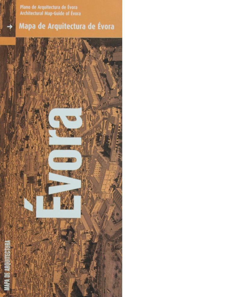 Mapa de Arquitectura de Évora