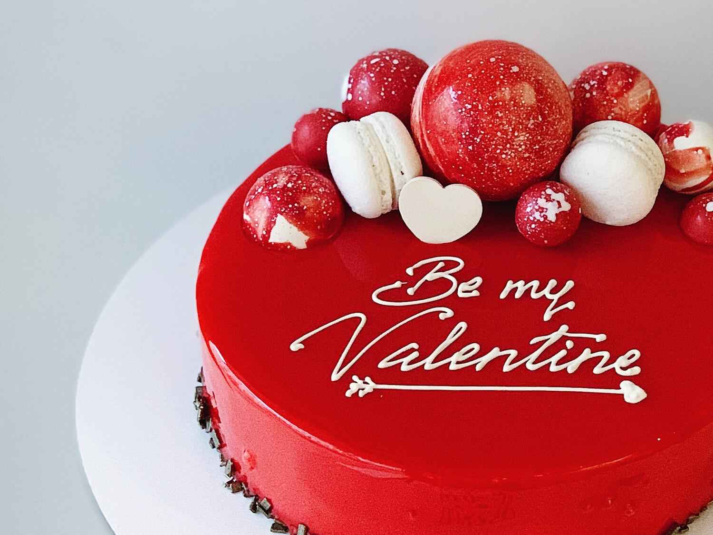 "Торт мусовий ""Be my Valentine"""