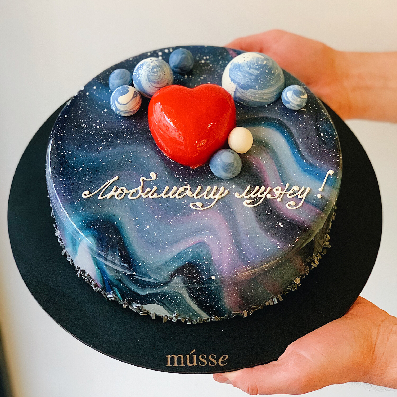 "Торт мусовий ""Galaxy love"""
