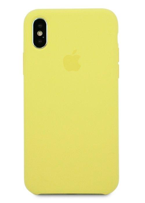 super popular 2f5a6 04ac9 Чехол для iPhone X Apple Silicone Case Lux (Lemonade)
