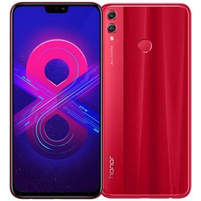 Смартфон Honor 8X 4/128Gb RUS (красный)