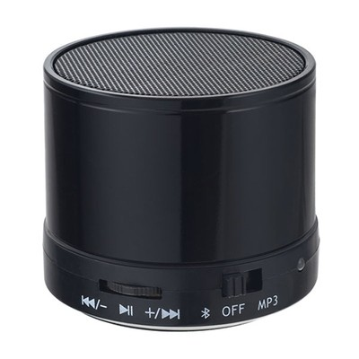 Bluetooth-колонка Perfeo «CAN» FM, MP3 microSD, AUX, мощность 3Вт, 500mAh (черный)