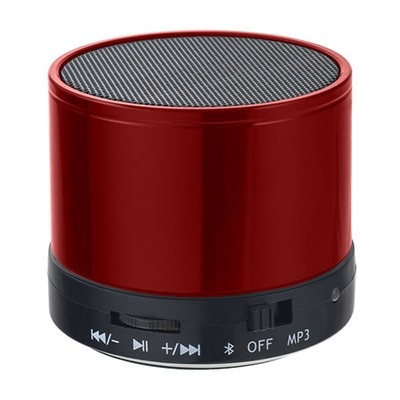 Bluetooth-колонка Perfeo «CAN» FM, MP3 microSD, AUX, мощность 3Вт, 500mAh (красный)