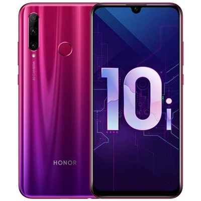 Смартфон Honor 10i 4/128Gb RUS (красный)