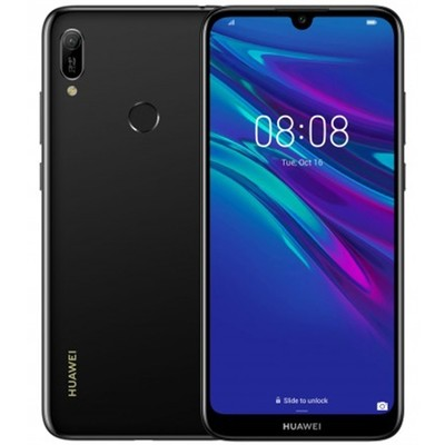 Смартфон Huawei Y6 2019 2/32Gb RUS (полночный черный)