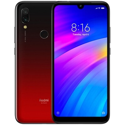 Смартфон Xiaomi Redmi 7 2/16Gb EU Global Version (красный)