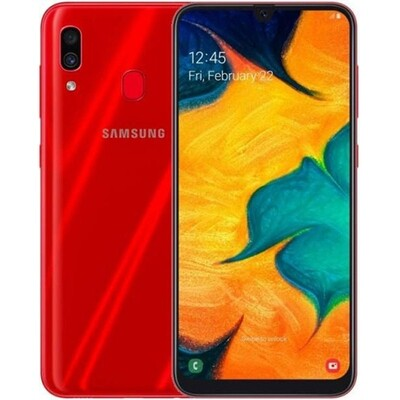 Смартфон Samsung A305 Galaxy A30 64Gb RUS (красный)