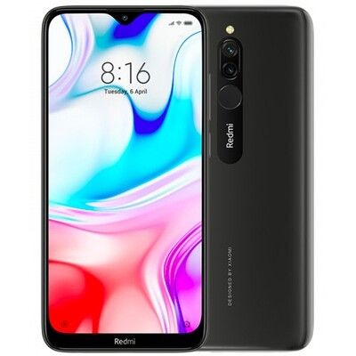 Смартфон Xiaomi Redmi 8 3/32Gb EU Global Version (черный)