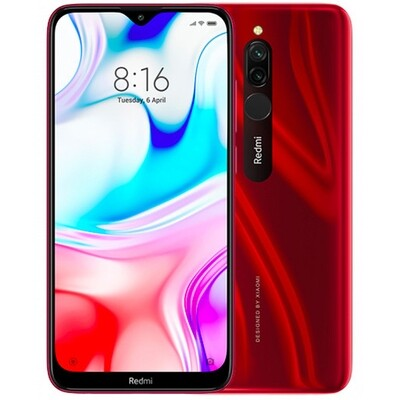Смартфон Xiaomi Redmi 8 3/32Gb EU Global Version (красный)