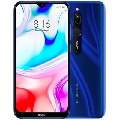 Смартфон Xiaomi Redmi 8 3/32Gb EU Global Version (синий)
