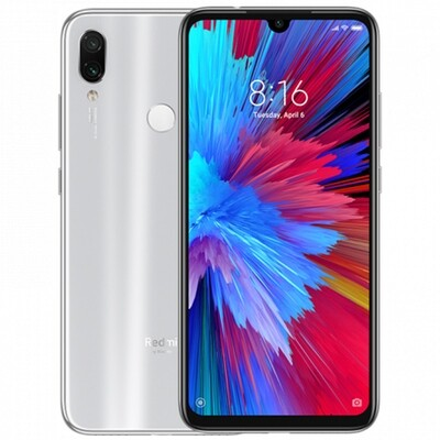 Смартфон Xiaomi Redmi Note 7 4/64Gb EU Global Version (белый)